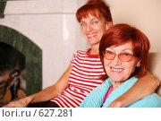Купить «Мама и дочь», фото № 627281, снято 25 сентября 2008 г. (c) Vdovina Elena / Фотобанк Лори