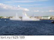 Фонтан на Неве (2008 год). Стоковое фото, фотограф Илларионов Андрей / Фотобанк Лори