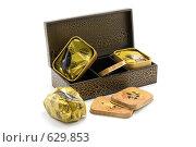 Купить «Деревянная коробка с чаем», фото № 629853, снято 28 ноября 2008 г. (c) Руслан Кудрин / Фотобанк Лори