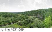 """Река Серьга, природный парк """"Оленьи ручьи"""", фото № 631069, снято 2 августа 2008 г. (c) Юрий Бельмесов / Фотобанк Лори"""