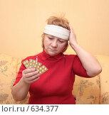 Купить «Головная боль», фото № 634377, снято 26 декабря 2008 г. (c) Лукиянова Наталья / Фотобанк Лори