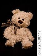 Купить «Игрушечный медведь», фото № 638117, снято 25 августа 2019 г. (c) Александр Спирков / Фотобанк Лори