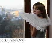 Купить «Ангел большого города», эксклюзивное фото № 638505, снято 27 декабря 2008 г. (c) Ирина Терентьева / Фотобанк Лори