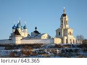 Купить «Высоцкий мужской монастырь», фото № 643365, снято 2 января 2009 г. (c) Наталья Волкова / Фотобанк Лори