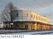 Любань. Вокзал (2009 год). Стоковое фото, фотограф Ирина Соколова / Фотобанк Лори