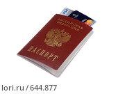 Купить «Паспорт и кредитки», фото № 644877, снято 7 января 2009 г. (c) Игорь Качан / Фотобанк Лори