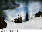Купить «Ночные гости», иллюстрация № 645145 (c) Андреева Екатерина / Фотобанк Лори