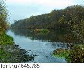 Река Сейм в Курской области. Стоковое фото, фотограф Александр Лихачев / Фотобанк Лори