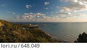 Купить «Морской пейзаж», фото № 648049, снято 13 ноября 2018 г. (c) Дмитрий Натарин / Фотобанк Лори