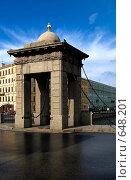 Купить «Мост Ломоносова», фото № 648201, снято 22 июля 2008 г. (c) Зайцева Ольга / Фотобанк Лори