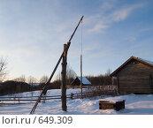 Купить «Музей-заповедник «Строчицы»», эксклюзивное фото № 649309, снято 4 января 2009 г. (c) Алина Голышева / Фотобанк Лори