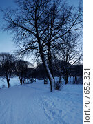 Купить «Зимнее утро», фото № 652321, снято 20 ноября 2018 г. (c) Игорь Бунцевич / Фотобанк Лори