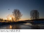 На излёте дня. Стоковое фото, фотограф Андрей Явнашан / Фотобанк Лори