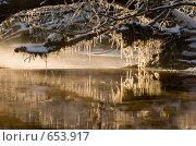Над рекой. Стоковое фото, фотограф Андрей Явнашан / Фотобанк Лори
