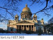 Купить «Санкт-Петербург. Исаакиевский собор», фото № 657969, снято 8 января 2009 г. (c) Александр Секретарев / Фотобанк Лори
