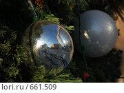Купить «Новогодние игрушки», фото № 661509, снято 21 декабря 2008 г. (c) Кирилл Федорин / Фотобанк Лори