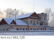 Купить «Краеведческий музей.  г. Менделеевск.», фото № 662129, снято 18 января 2009 г. (c) Алексей Баринов / Фотобанк Лори