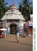 Купить «Храм Гундича в Пури», фото № 664185, снято 1 октября 2004 г. (c) Вячеслав Беляев / Фотобанк Лори
