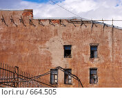 Старый жилой дом в Санкт-Петербурге (2008 год). Стоковое фото, фотограф Константин Хрипунков / Фотобанк Лори