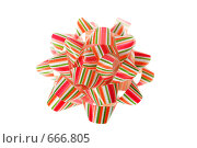 Купить «Подарочный бант», фото № 666805, снято 13 января 2009 г. (c) Коваль Василий / Фотобанк Лори
