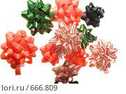Купить «Подарочные бантики», фото № 666809, снято 13 января 2009 г. (c) Коваль Василий / Фотобанк Лори