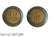 Монеты, 10 шекелей. Стоковое фото, фотограф Azaria Iounaev / Фотобанк Лори