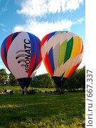 Купить «Фестиваль воздухоплавателей», фото № 667337, снято 3 июня 2006 г. (c) Игорь Бунцевич / Фотобанк Лори