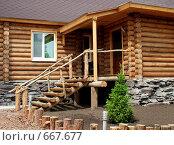 Деревянный домик. Стоковое фото, фотограф Елена Иценко / Фотобанк Лори