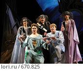 """Купить «""""Волшебная флейта"""" (сцена из оперы Моцарта)», фото № 670825, снято 5 июня 2008 г. (c) Сергей Лебедев / Фотобанк Лори"""