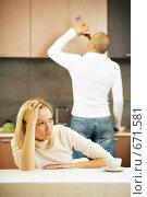 Купить «Семейная ссора», фото № 671581, снято 15 сентября 2008 г. (c) Raev Denis / Фотобанк Лори