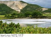 Долина Узон. Стоковое фото, фотограф Владимир Бондаренко / Фотобанк Лори