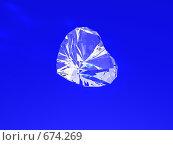 Сердце из горного хрусталя. Стоковая иллюстрация, иллюстратор Николай Казаков / Фотобанк Лори