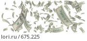Купить «Дождь из долларовых купюр», иллюстрация № 675225 (c) ИЛ / Фотобанк Лори
