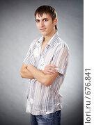Красивый парень. Стоковое фото, фотограф Никита Савин / Фотобанк Лори