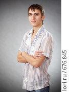 Молодой парень. Стоковое фото, фотограф Никита Савин / Фотобанк Лори