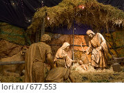 Купить «Рождение Христа. Рождественские фигуры в соборе в Перу.», фото № 677553, снято 25 декабря 2008 г. (c) Максим Горпенюк / Фотобанк Лори