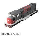 Купить «Дизельный локомотив», иллюстрация № 677801 (c) ИЛ / Фотобанк Лори