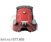 Купить «Дизельный локомотив», иллюстрация № 677805 (c) ИЛ / Фотобанк Лори