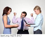 Купить «Бизнес эмоции», фото № 677917, снято 21 июля 2007 г. (c) Владимир Мельник / Фотобанк Лори