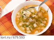 Купить «Гороховый суп», фото № 679593, снято 24 ноября 2005 г. (c) Кравецкий Геннадий / Фотобанк Лори
