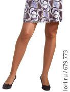 Купить «Женские ножки на белом фоне», фото № 679773, снято 25 января 2009 г. (c) Виктория Кириллова / Фотобанк Лори