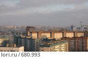 Купить «Спальные районы Петербурга», эксклюзивное фото № 680993, снято 30 января 2009 г. (c) Румянцева Наталия / Фотобанк Лори
