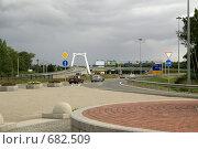 Развязка петербургской КАД в Горской (2008 год). Редакционное фото, фотограф Самохвалов Артем / Фотобанк Лори