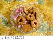 Ваза с печеньем и конфетами, фото № 682753, снято 16 декабря 2008 г. (c) Вадим Орлов / Фотобанк Лори