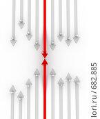 Купить «Карьерный рост», иллюстрация № 682885 (c) Ильин Сергей / Фотобанк Лори