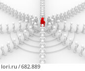 Купить «Концепция командной работы», иллюстрация № 682889 (c) Ильин Сергей / Фотобанк Лори