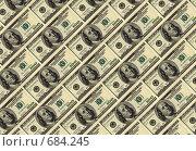 Доллары, фон. Стоковое фото, фотограф Олег Колташев / Фотобанк Лори