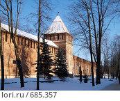 Крепостная стена. Город Смоленск, фото № 685357, снято 3 февраля 2009 г. (c) Примак Полина / Фотобанк Лори