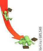 Банкротство. Стоковая иллюстрация, иллюстратор Лукиянова Наталья / Фотобанк Лори