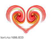 Купить «Сердечко», иллюстрация № 686833 (c) Елена Блохина / Фотобанк Лори